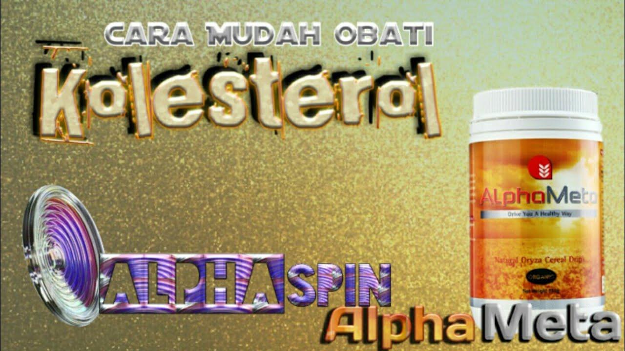 Cara mengobati kolesterol ldl tinggi dengan alpha meta ...