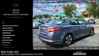 Used 2011 Kia Optima | Rite Cars, Inc, Lindenhurst, NY