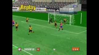 virtua striker 2 version 2000 goal compilation part 1 by cacho