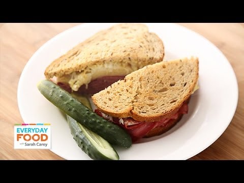 Reuben Sandwich - Everyday Food with Sarah Carey