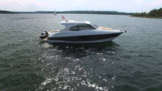 Cruisers Yachts 45 cantius INXS Fly Around on Greers Ferry lake