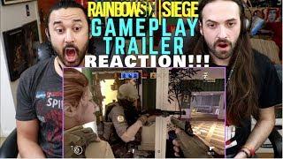RAINBOW SIX SIEGE E3 GAMEPLAY - TRAILER REACTION!!!