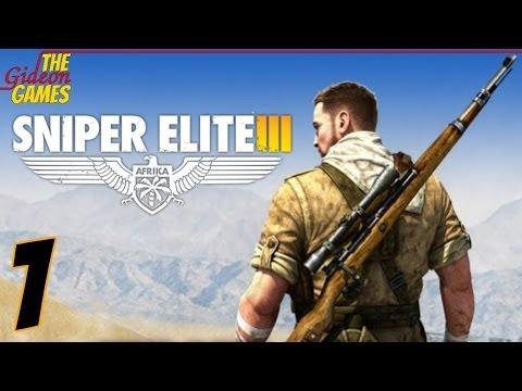 Прохождение Sniper Elite 3 [HD|PC] - Часть 1 (Без снайпера - никуда)