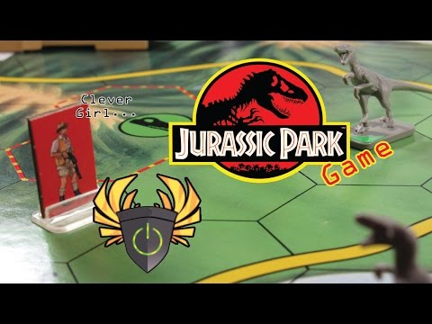 Board Gamers: Jurassic Park Game (1992)