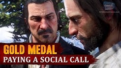 Red Dead Redemption 2 - Mission #11 - Paying a Social Call [Gold Medal]