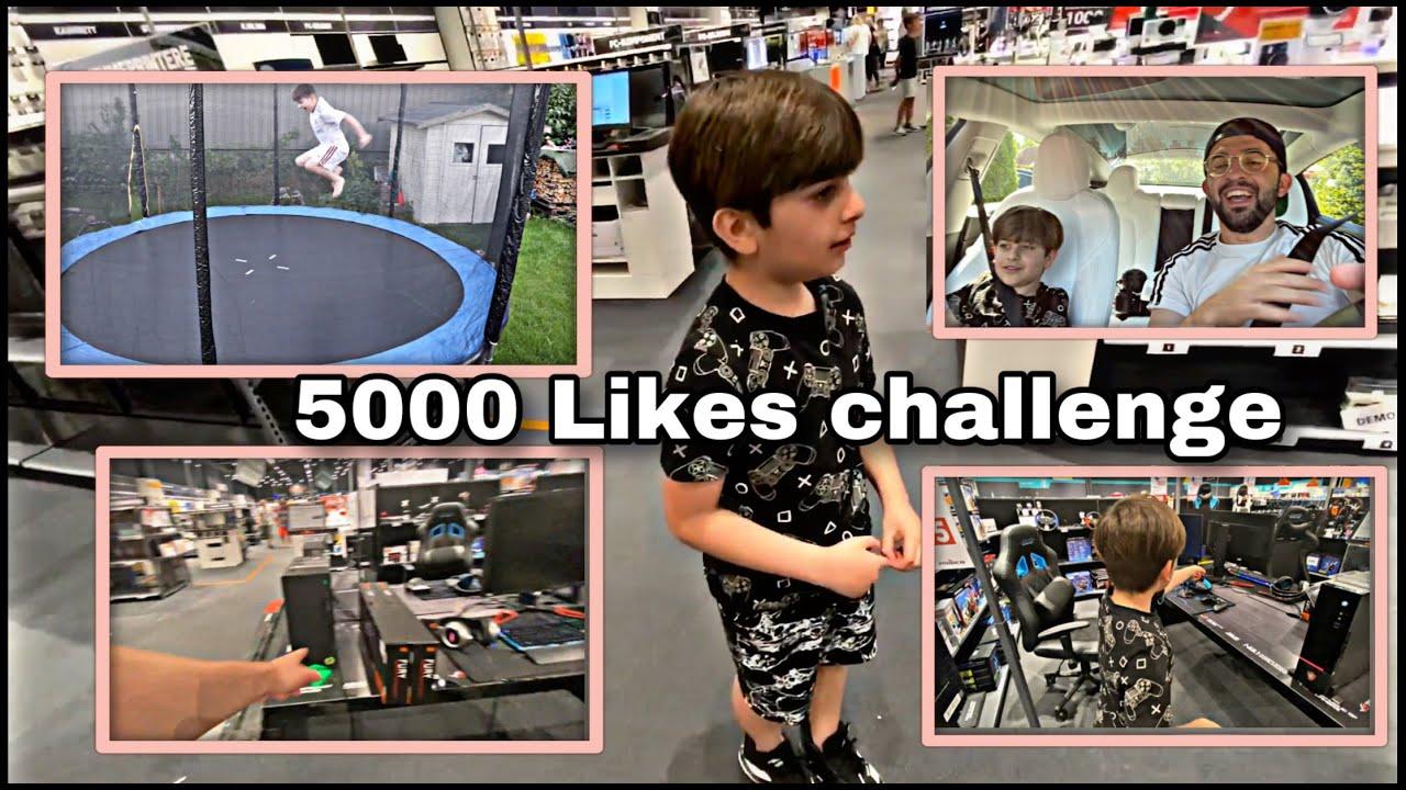 5000 LIKES CHALLENGE KURDI (  FANS VS DAVED )