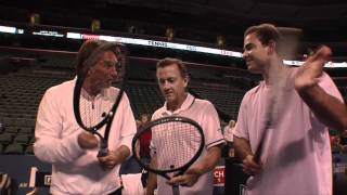 Jimmy Connors All Access pass | Champions Series Tennis Behind the Scenes