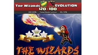 The Wizards vs Evolution (Perfect War) Clash of clans