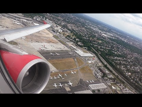 Great CFM56-Engine Sound! | Air Berlin A320 Take Off from Dusseldorf Airport! | D-ABFN