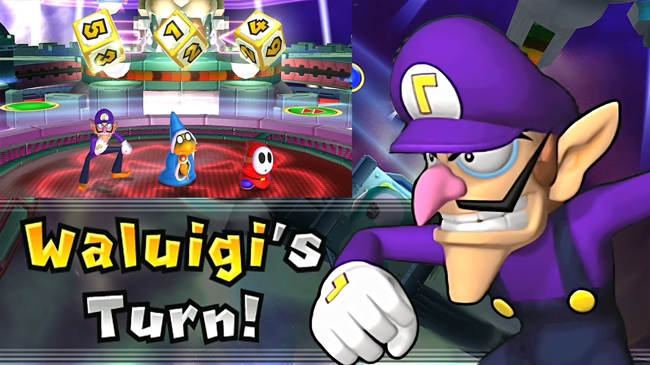 Mario Party 9 Solo Mode Waluigi Bowser Station Part 6 307 Youtube