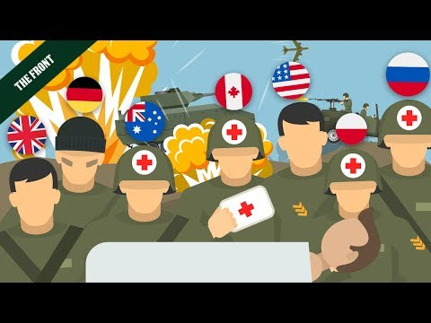 The Most HEROIC Medics from Each Fighting Country [WW2]