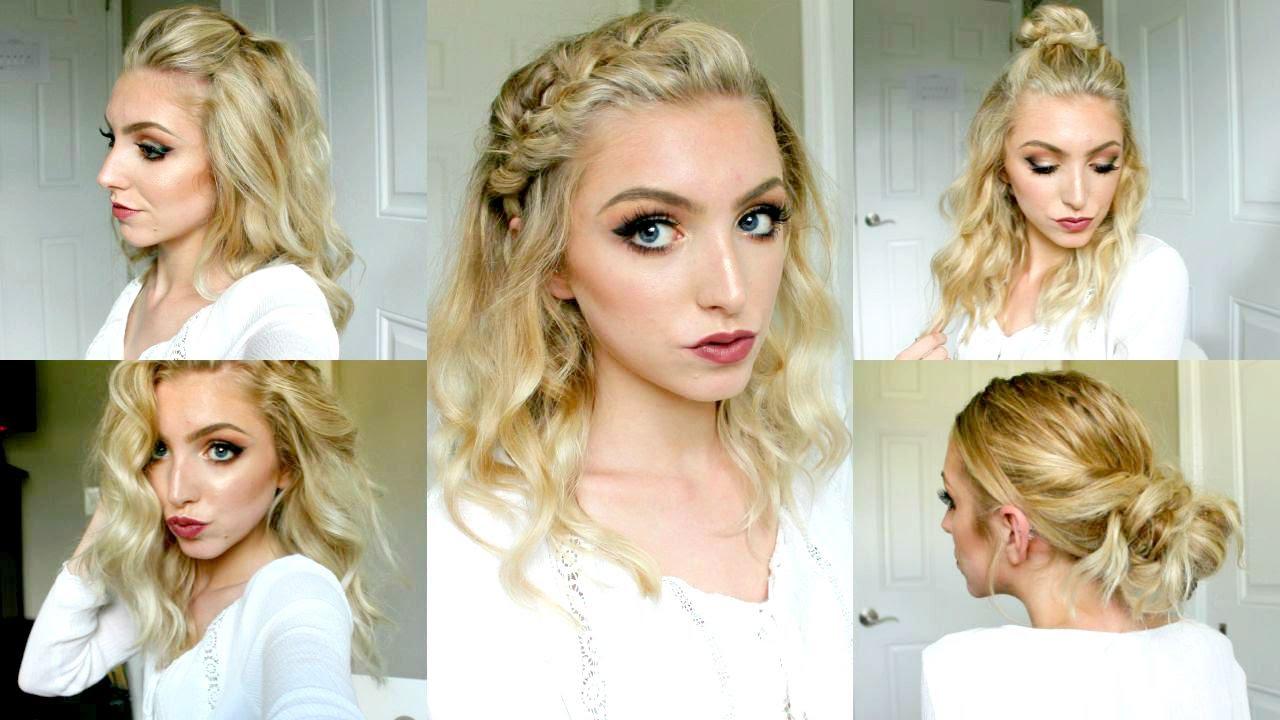 5 fall hairstyles short medium