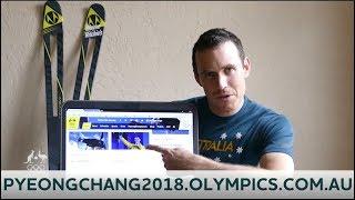 AOC launch new website for 2018 Australian Winter Olympic Team