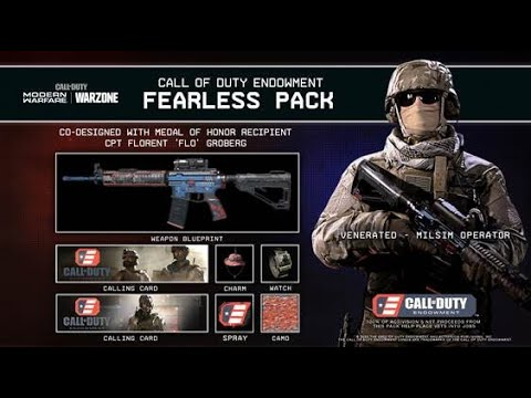 Call Of Duty Endowment Fearless Pack Inspired By Medal Of Honor