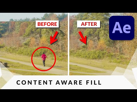 How To Remove ANYTHING from VIDEO in After Effects Tutorial