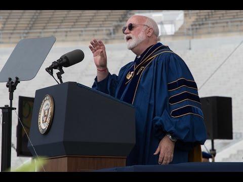 Notre Dame Commencement 2017: Rev. Gregory J. Boyle, S. J.'s Laetare Speech