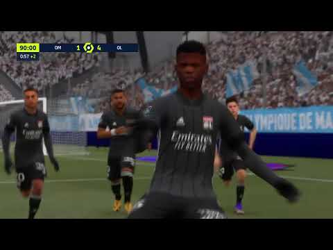 Marseille vs Lyon | Ligue 1  21/22 | Career Mode | FIFA 21 | Ultimate