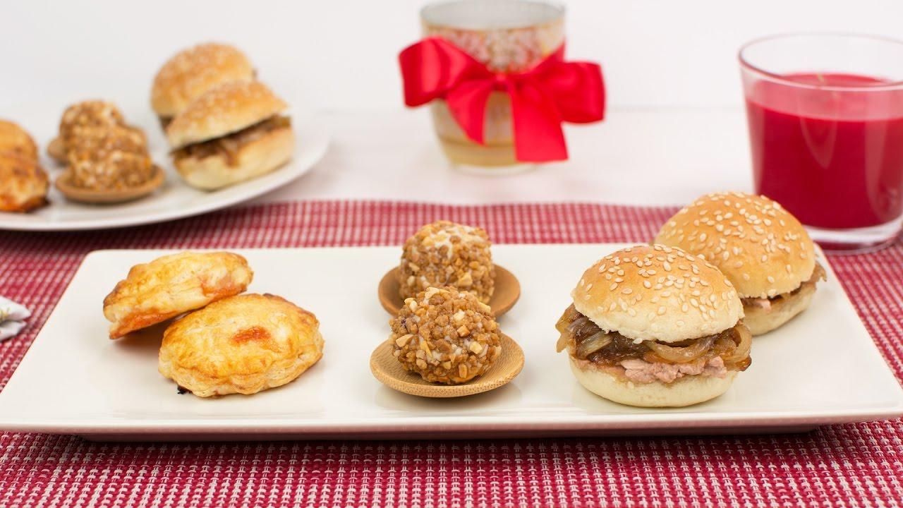 3 aperitivos f ciles y r pidos para fiestas youtube for Canapes sencillos y rapidos
