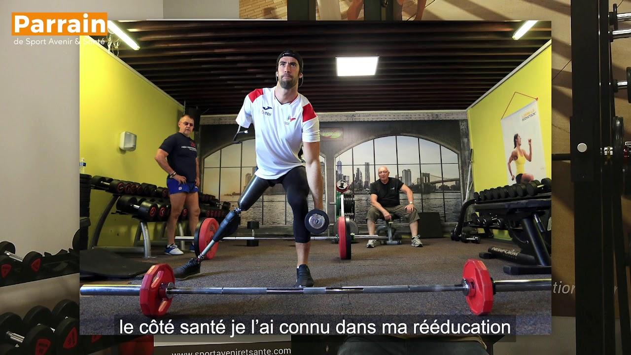 """""""'J'ai surmonté mon attaque par le sport"""" Laurent Chardard (interview)"""