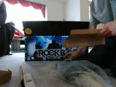 Rock Band Unboxing PS3