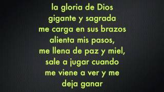 la gloria de Dios) pista y letra Ricardo Montaner[1]