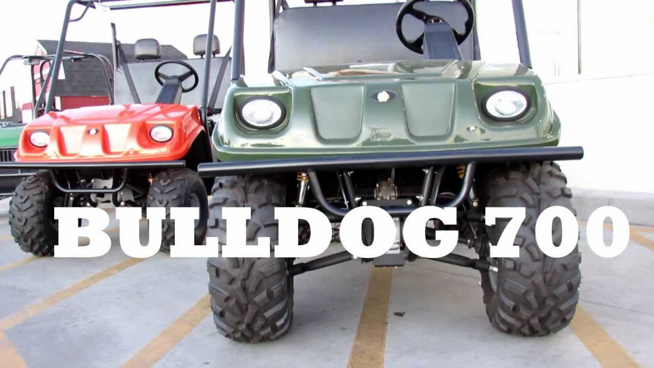 american sportworks utv bulldog bd-700, 300, 200 utility vehicle - youtube