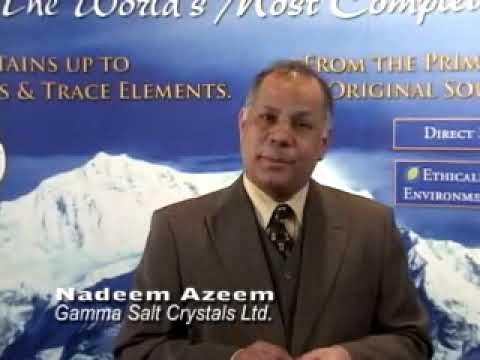 Pure Himalayan Salt - 84 Natural Minerals | Gamma Salt