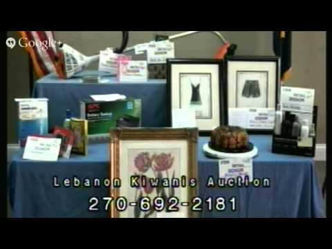 Kiwanis Auction Live on March 9th