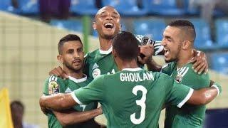 L'Algérie qualifiée pour les 1/4 de finale de la CAN 2015