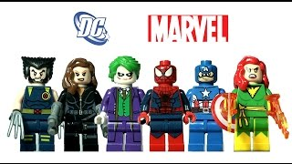 Unboxing Lego Superheroes KnockOff from Aliexpress - Decool