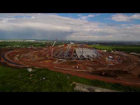 Строительство стадиона в Самаре 4к
