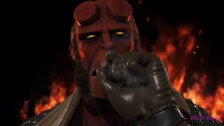HELLBOY TRAILER REVEAL TOMORROW?? - INJUSTICE 2