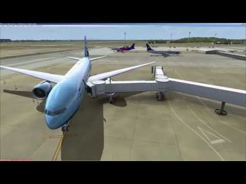 FSX | PMDG | Boeing 777 | FS2Crew voice control | Procedure check list | LHBP - ULLI | Manual