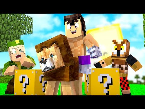 EL REY LEON *LUCKY BLOCKS* (WILLY vs FARGAN vs VEGETTA)