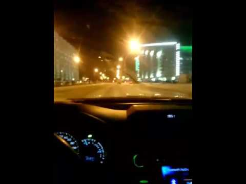Машина музыка дорога ночь город
