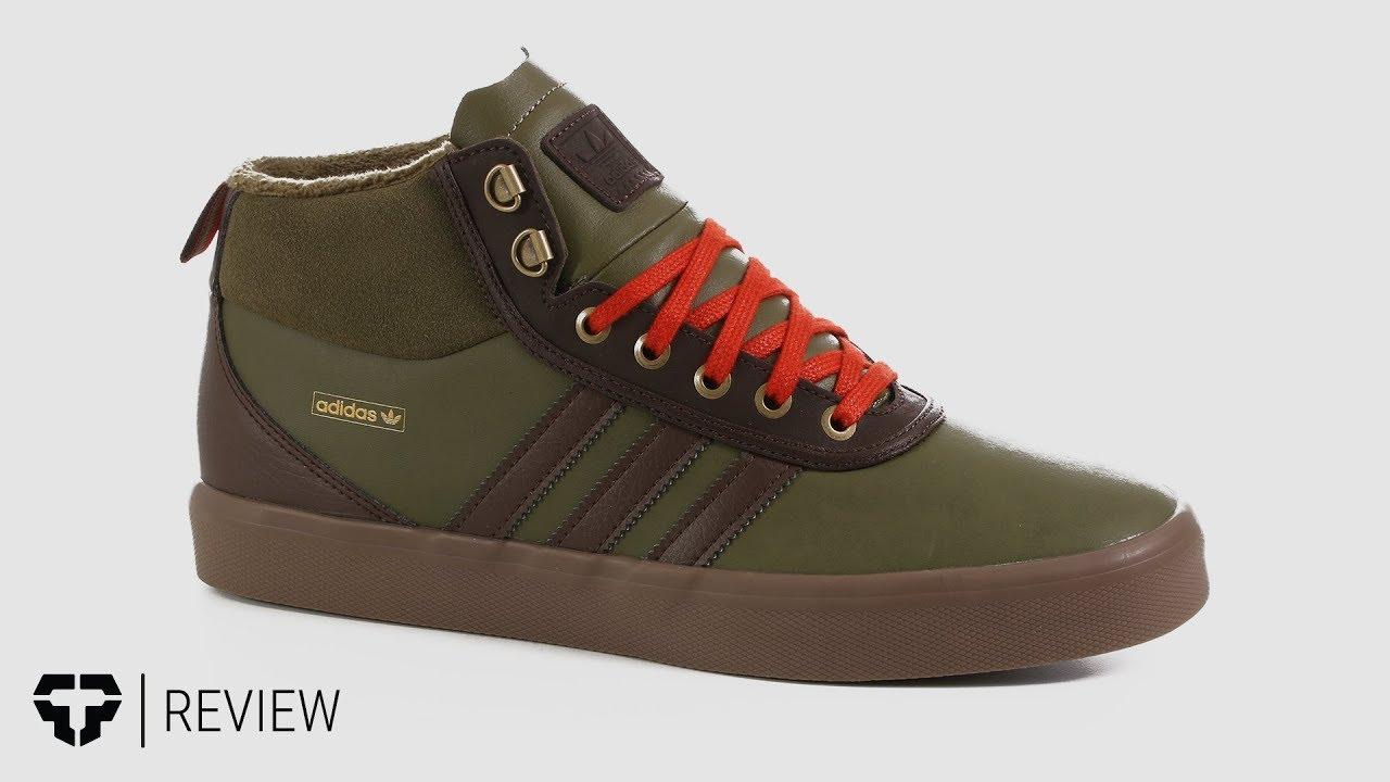 6362a49bb6 Adidas Adi-Trek Skate Shoes Review - Tactics.com - YouTube