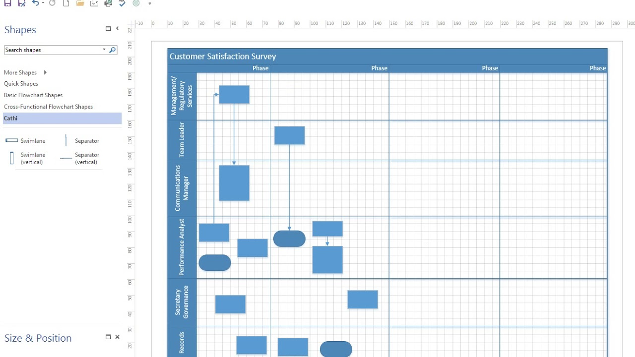 process flow diagram using visio microsoft visio video 15 cross functional diagrams youtube  microsoft visio video 15 cross