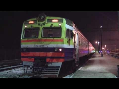 Rail in Latvia - January 2014