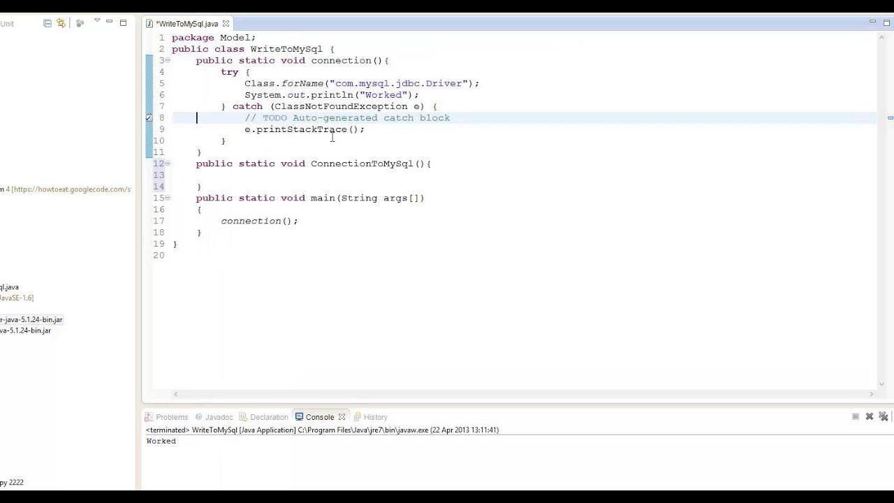 MySql | Java Tutorials