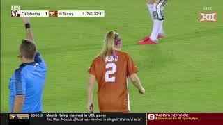 Oklahoma at Texas Soccer Highlights