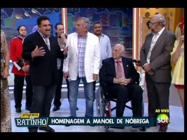 Ratinho - 100 Anos de Manoel de Nóbrega parte 1/2  -  18/02/2013