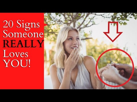 20 Signs Someone Really Loves You ❤ YOU Only Need One!