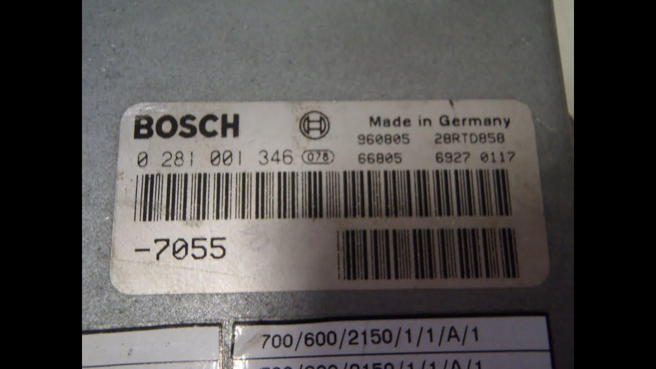 0281001476 man motorsteuergerät bosch edc 2 MS5 LKW ECU Repair Service