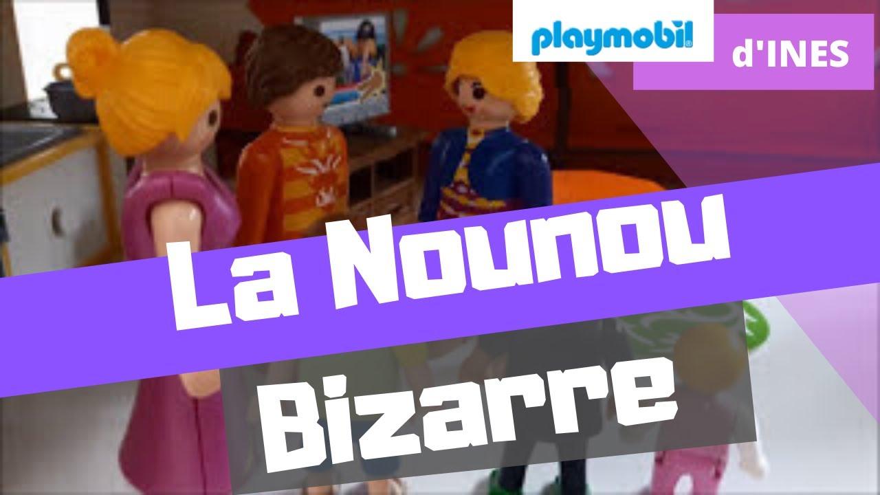 Bien connu Playmobil d'Ines | La Nounou bizarre - YouTube JU09