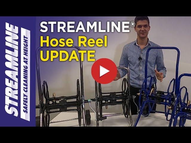 STREAMLINE® hose reel update