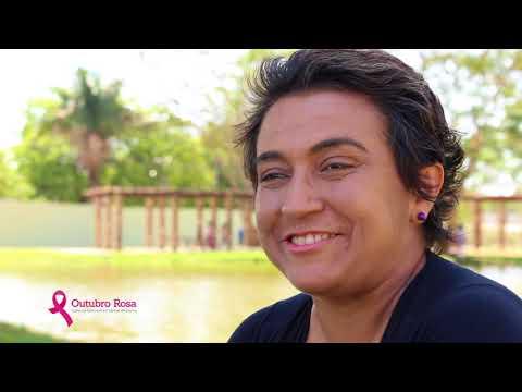 Outubro Rosa - Nalda Lima dá exemplo de superação