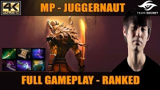 Dota 2 | MP Plays Juggernaut! | Ranked MMR Gameplay