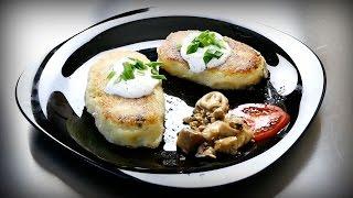 Картофельные зразы с грибами. Прям вообще годнота!
