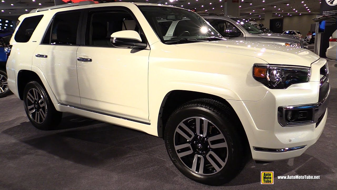 2016 Toyota 4runner Limited Exterior And Interior
