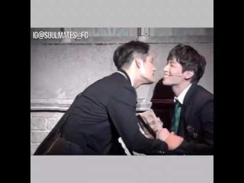 Korean gay kiss